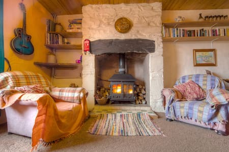 Artists cottage. Snug in Snowdonia - House