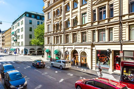 L32: hostel room for 2 in the center of Stockholm - Slaapzaal
