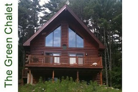 Log cabin in Adirondacks - Chestertown - Casa