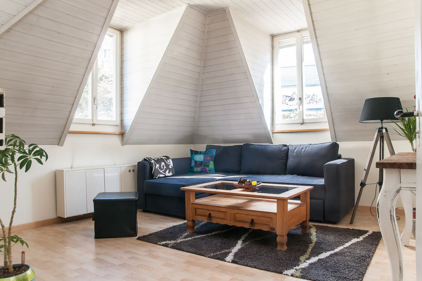 Your room: the sofa turns into a cozy bed in just a minute!