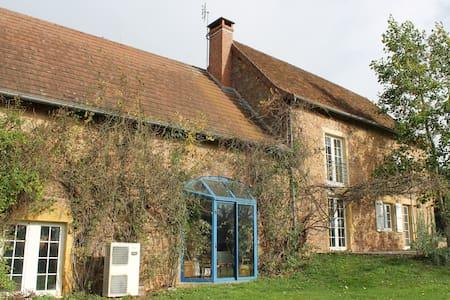 maison de la genette - La Clayette - Talo