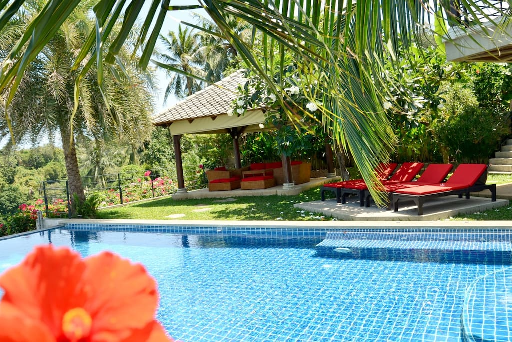 Welcome to the Villa flowers : BAAN