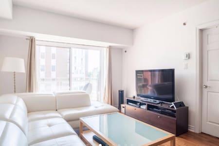 NEW LUXURIOUS CONDO  1BD BALCONY - Condominium