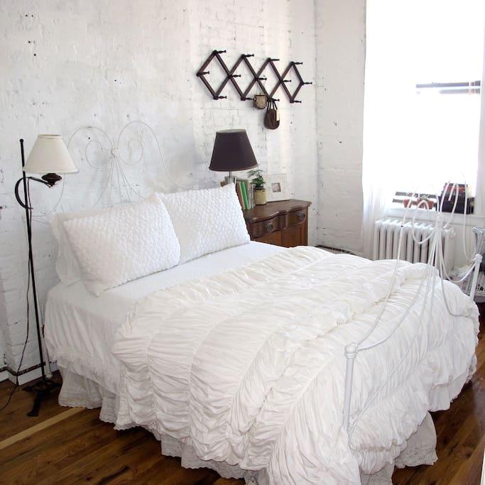 My bedroom:)