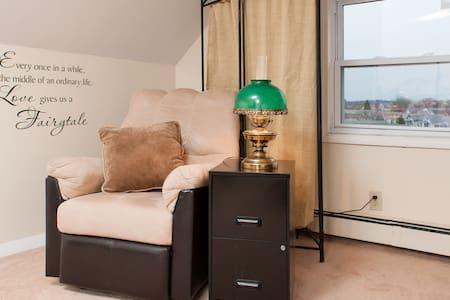 Master Bedroom, Near Cambridge - Belmont - Casa