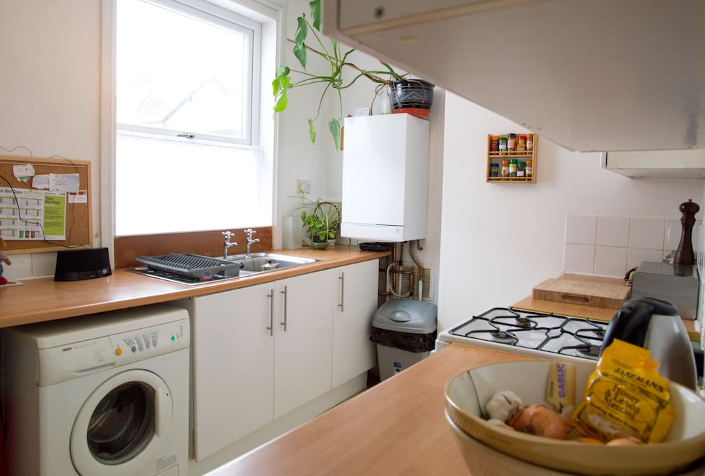 Please note that the kitchen has now been updated with a new cooker and a new floor and a new more efficient boiler system.