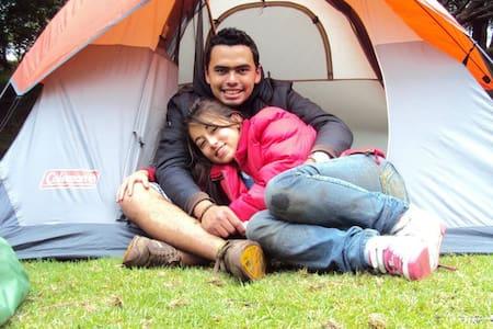 Zona de Camping Espectacular Suesca - Sátor