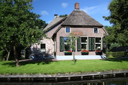 Idyllic luxury house in Giethoorn - House
