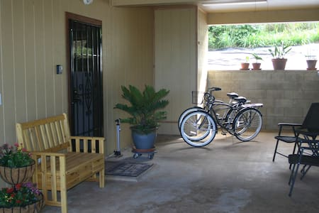 The Hideaway steps to the beach !!! - Haleiwa - Pensione
