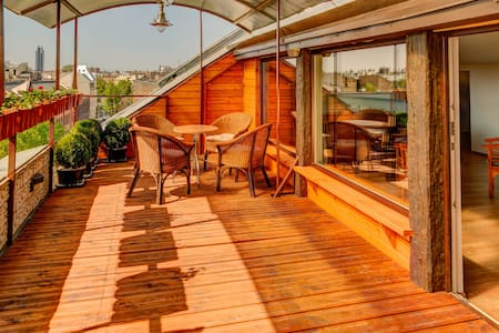 Roof Garden Terrace - Lägenhet