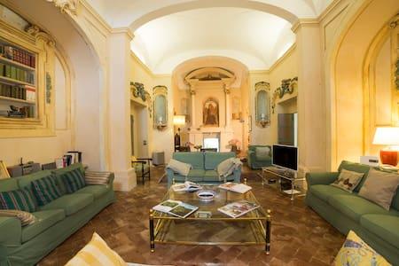 """camera """"verde"""" matrimoniale in villa - Sienne"""