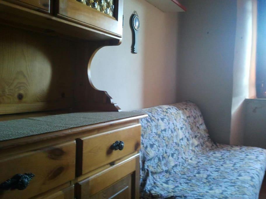 comodo divano letto biposto