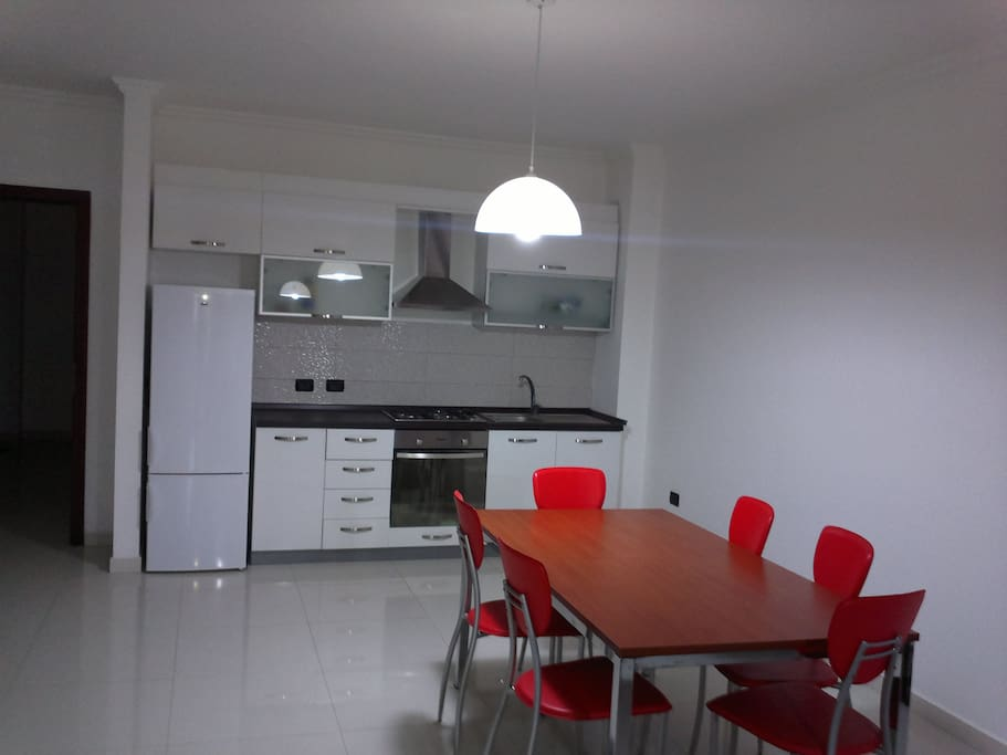 kitchen and dine