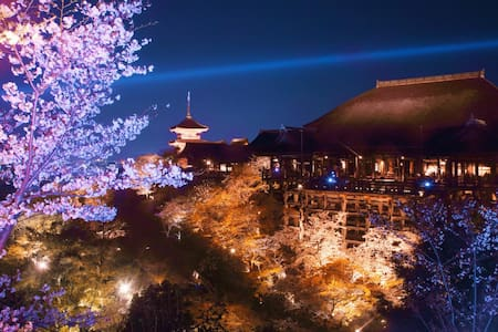 Kiyomizu-dera 4min by walk.清水寺徒歩四分 - Higashiyama Ward, Kyoto - Helt våningsplan