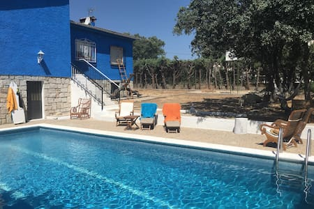Habitación con piscina a 30m madrid - Colmenar del Arroyo - Casa