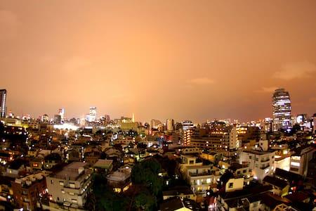 SHIBUYA-10min-Penthouse-Nice View- - Reihenhaus
