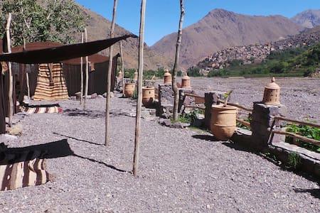 Old sheepfold - Earth Room - Imlil - Bed & Breakfast