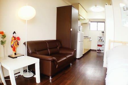 (한국인 호스트) 난바 12분 쯔텐카쿠 5분! 오사카 돈키 하우스!#8 - Osaka - Apartment