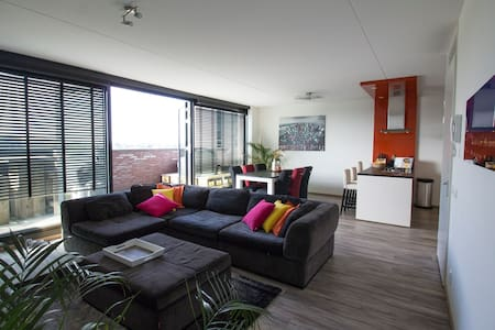 Large & Luxurious app.@Citycentre - Venlo - Apartment