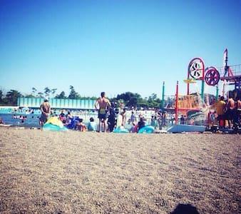 海の部屋 蓮沼海浜公園 九十九里浜 - Wohnung
