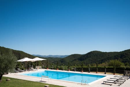 Tuscan Villa: Magical Views & Pool - Anghiari