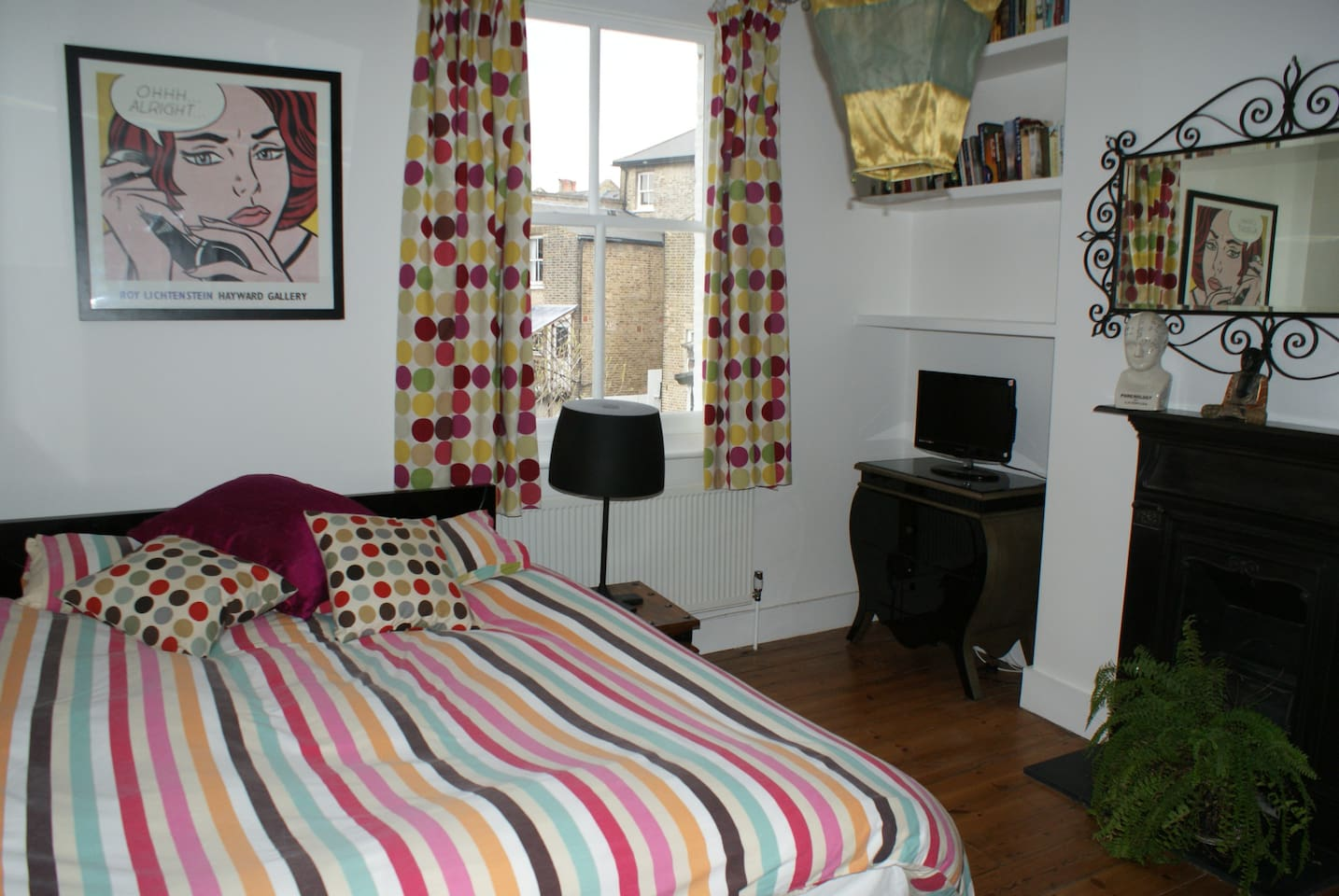 Double bedroom in gay friendly home