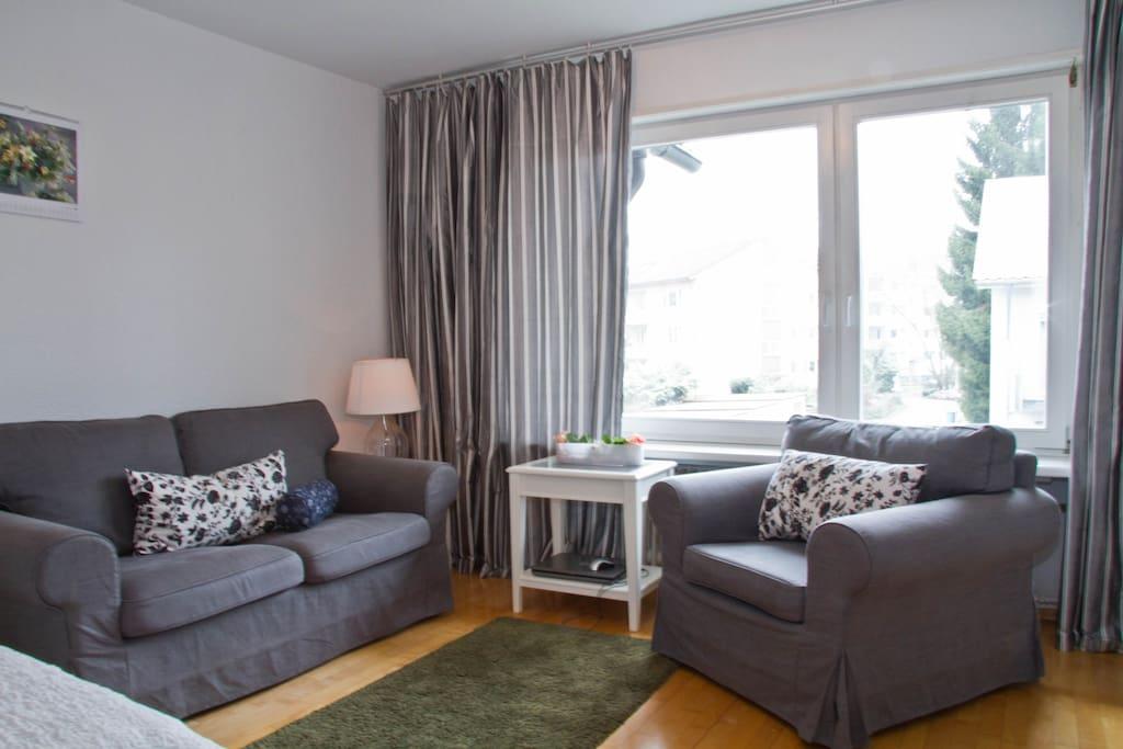 M 70 Studio app in 1a living area