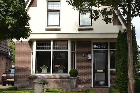 Sfeervol huis met riante tuin - Ommen