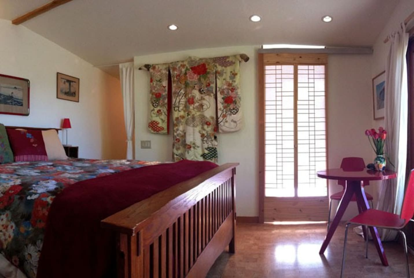 Over 300 five star reviews! Your beautiful private bungalow with King bed.