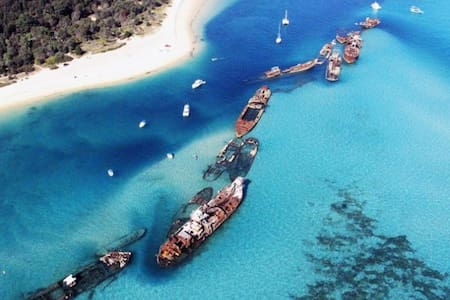 Absolute Beach Front Villa Moreton Island - Moreton Island