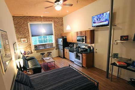 Historic Downtown Studio Loft - Atlanta - Loft
