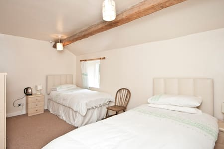 Twin room - Wharfe View Burnsall - Burnsall - Bed & Breakfast