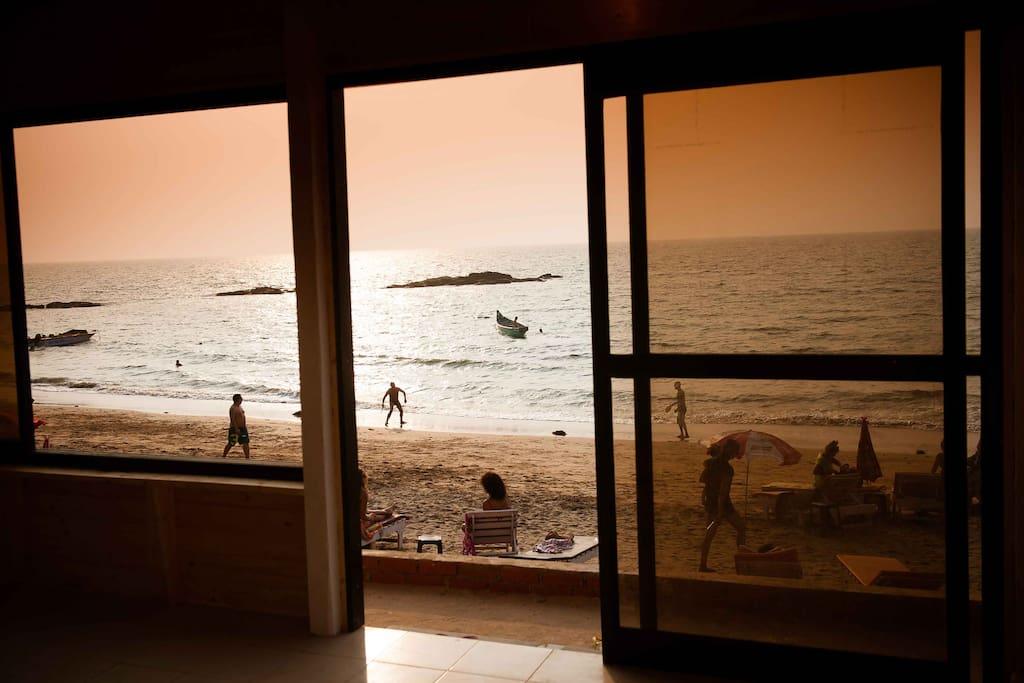 Sea facing Suite view