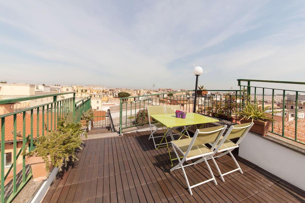Loft amazing terrace - Central Rome
