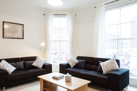 Bright, spacious London apt.!