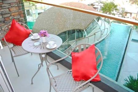 Pool view apartment in Patong! - Patong - Apartamento