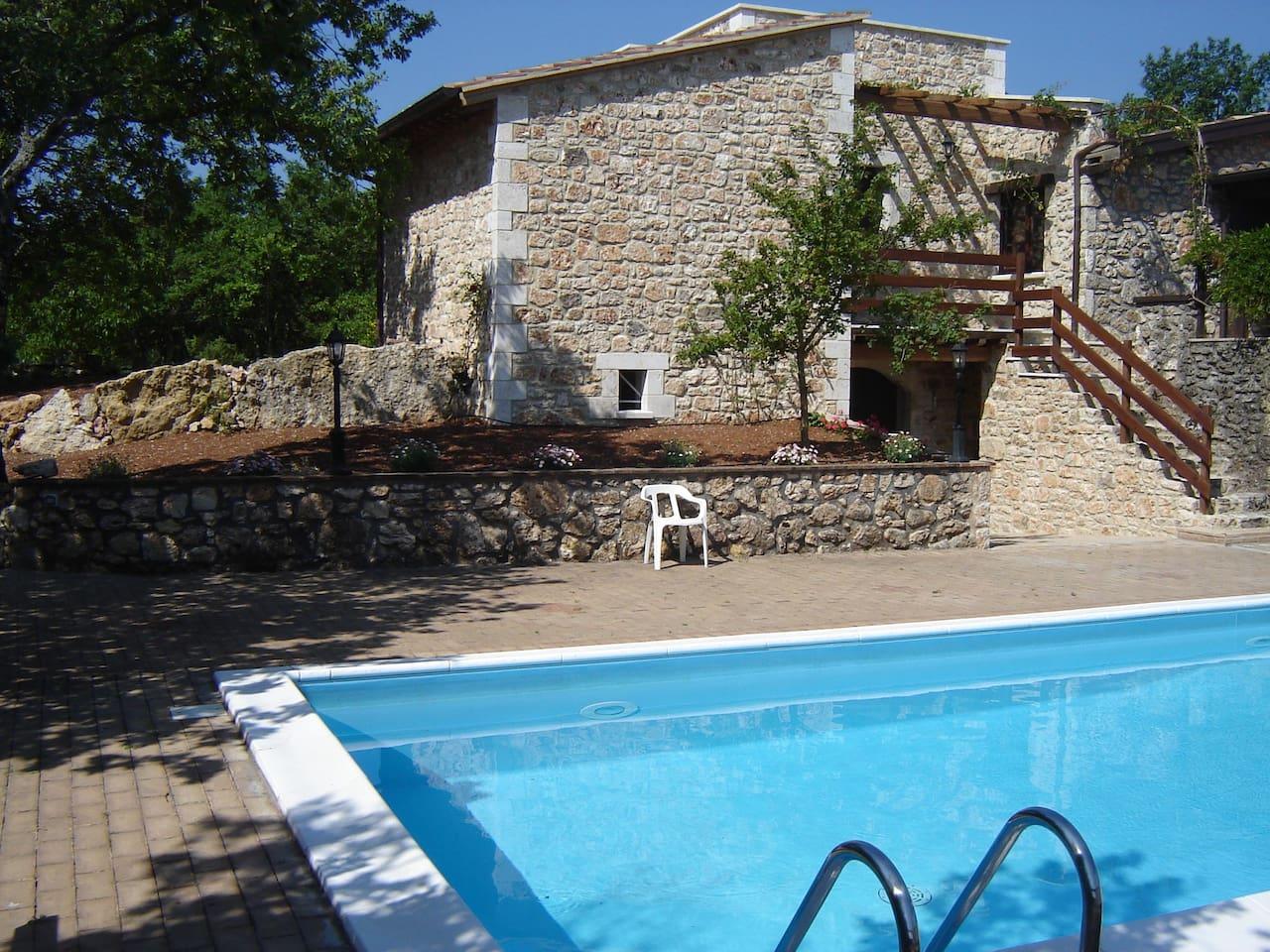 rent villa near Todi - Montefalco