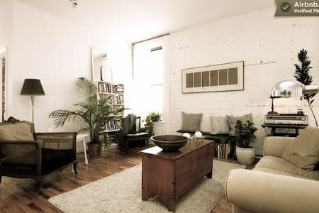 Private room in Red Hook loft!
