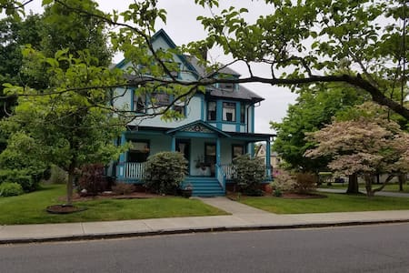 3rd Floor of quiet Victorian (3 br, lounge + bath) - Celé patro