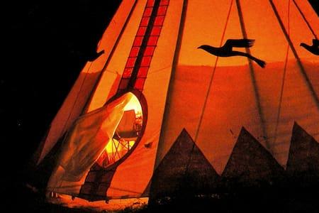 Chief Seattle Tipi at Tipi Village  - Tipi