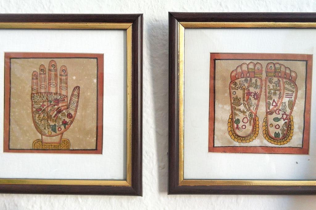 Mitbringsel aus Indien. // Souvenirs from India.