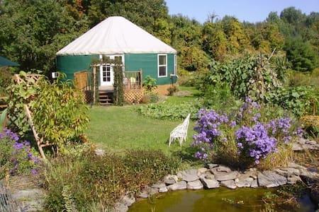 Elegant and Unique Garden Yurt - Iurta