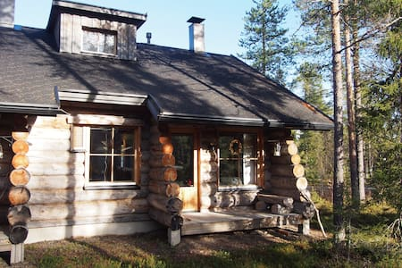 HIGH QUALITY LOG CABIN in Ylläs. Perfect location! - Kolari
