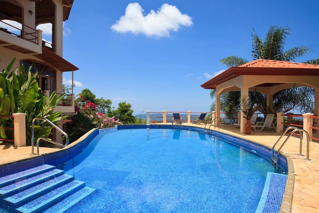 Private apartment at luxury villa