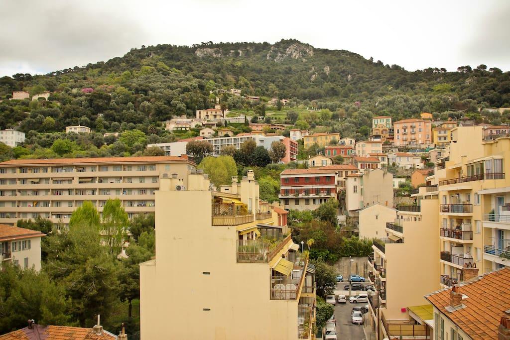 Vue de la terrasse / View from the terrace