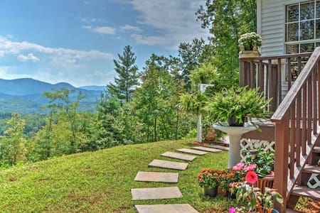 2BR Smoky Mountains House w/Panoramic Views! - Otto - Ev