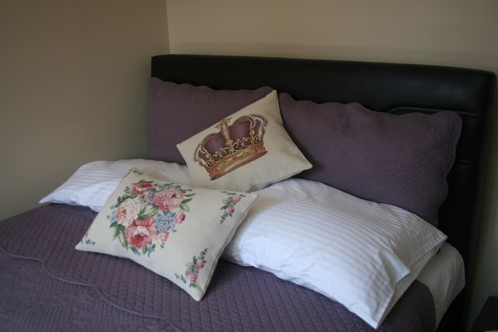 Bedroom #1 Extra Comfort Large Double Bed