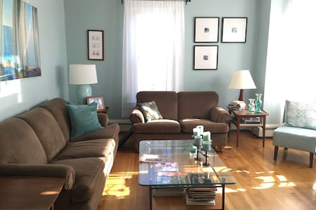 Sun-filled 4BR home near T and downtown Boston. - Brookline