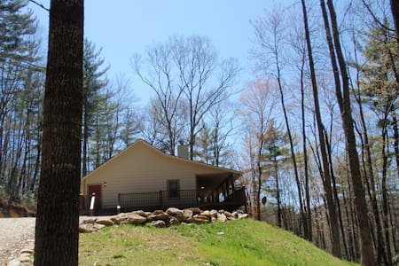 Woodland Vista Cabin on 53 Acres - Cullowhee - House