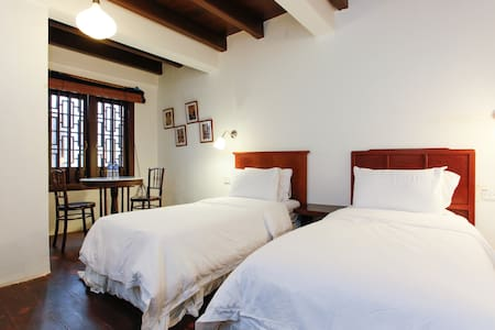 Twin Room, Wayfarer Guest House by the River - Casa